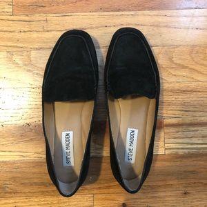 Steve Madden suede loafers